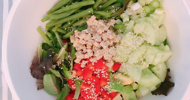 Met restjes de lekkerste Oosterse salade maken